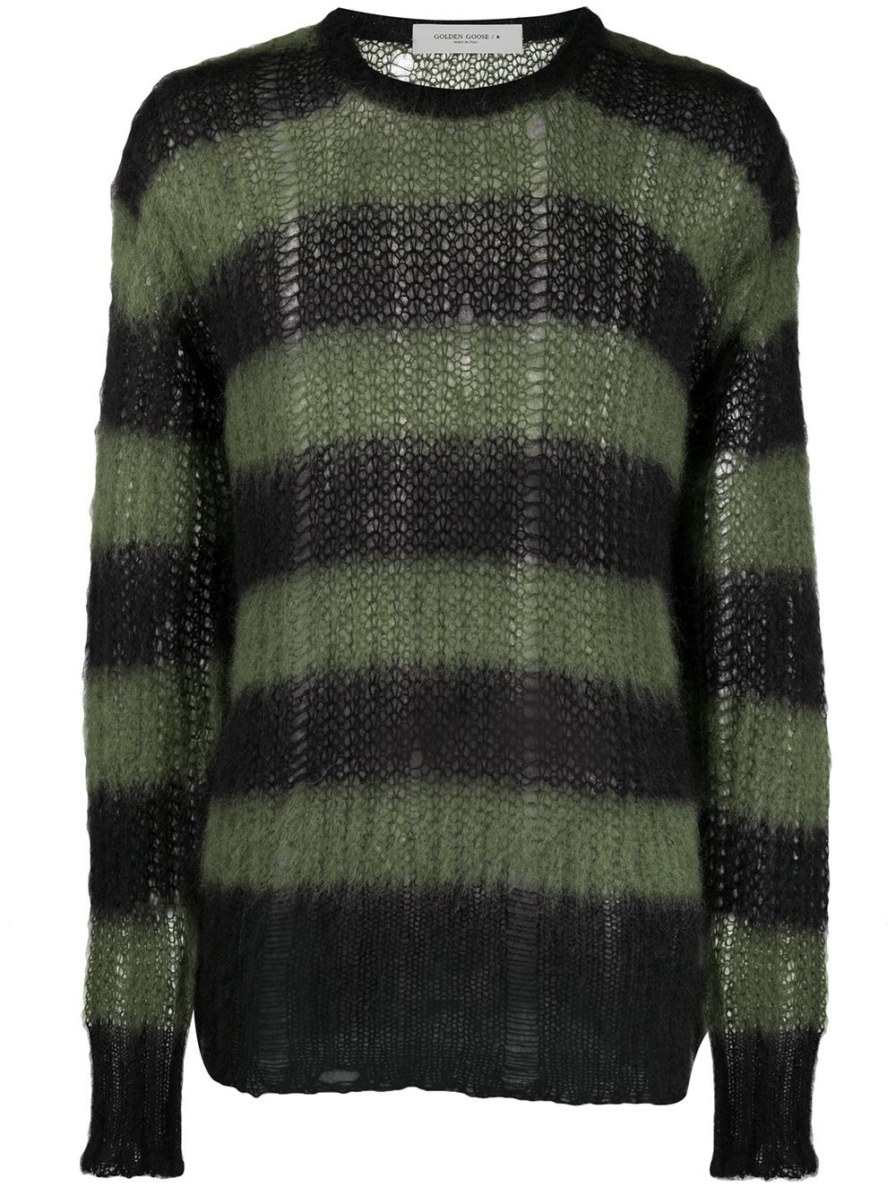 GOLDEN GOOSE DELUXE BRAND Destroyed Effect Knit Sweater