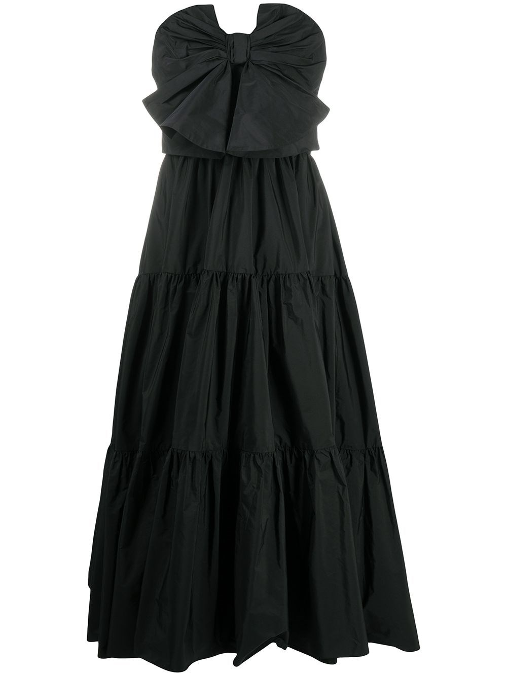 REDVALENTINO Bustier Midi Dress