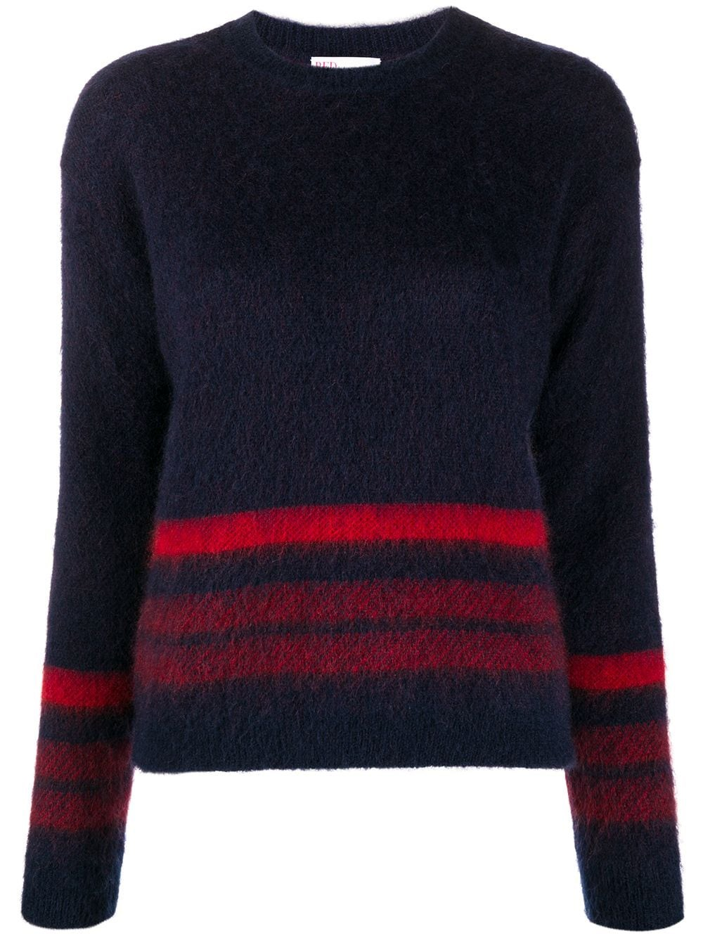 REDVALENTINO Slim Fit Mohair Sweater
