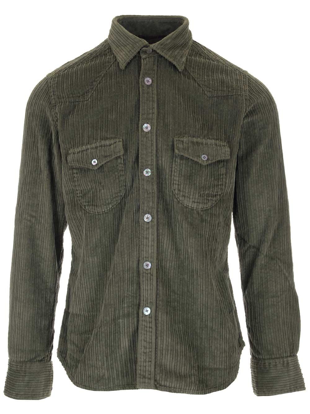 AL DUCA D'AOSTA 1902 Corduroy Shirt