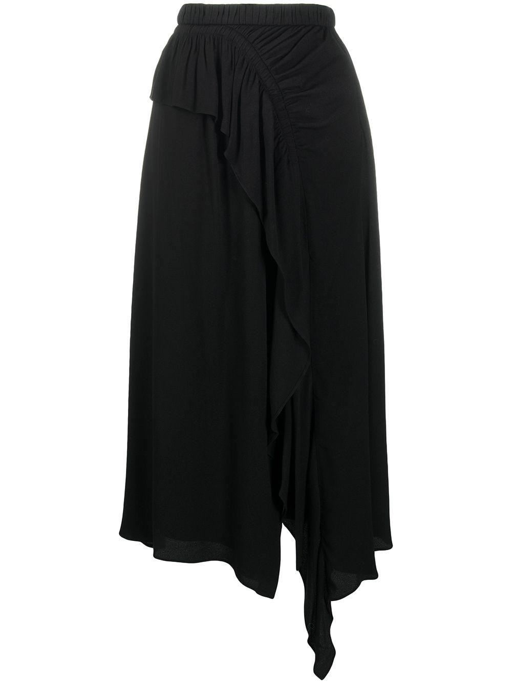 ULLA JOHNSON Asymmetric Midi Skirt