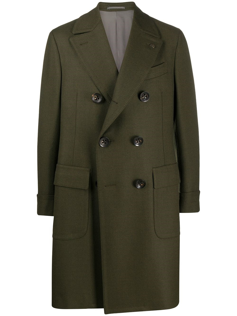 GABRIELE PASINI Double-Breasted Wool Coat
