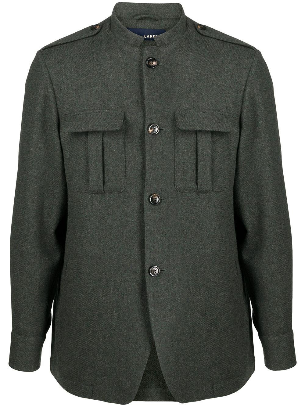 LARDINI Chest-Pocket Military Jacket