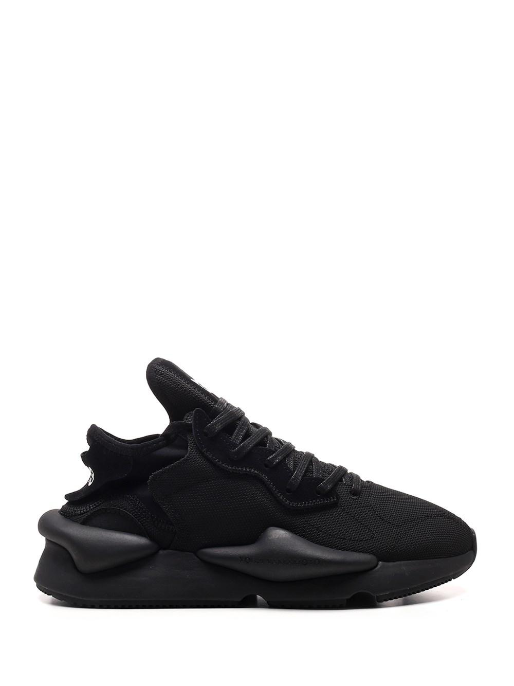 "ADIDAS Y-3 Black ""Kaiwa"" Sneaker"