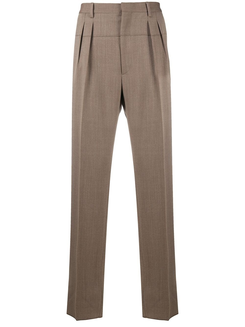 GABRIELE PASINI Inverted Pleat Detail Trousers