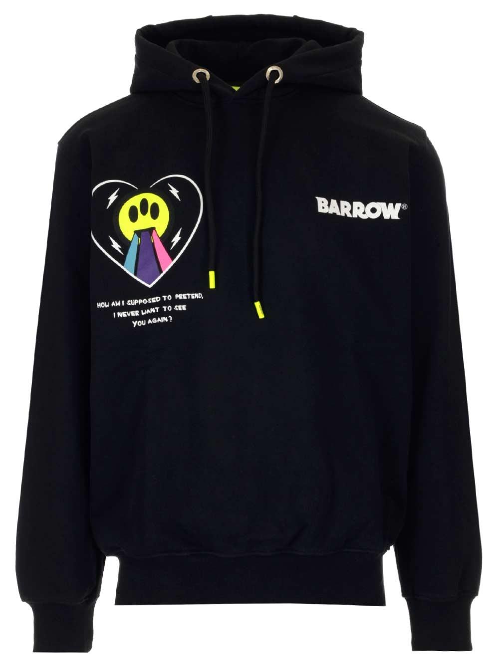 BARROW Smile Print Hoodie