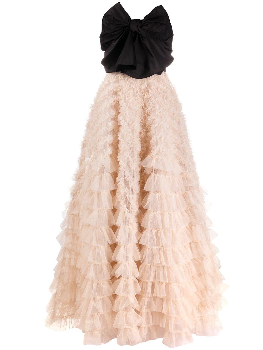 REDVALENTINO Tulle And Taffeta Dress