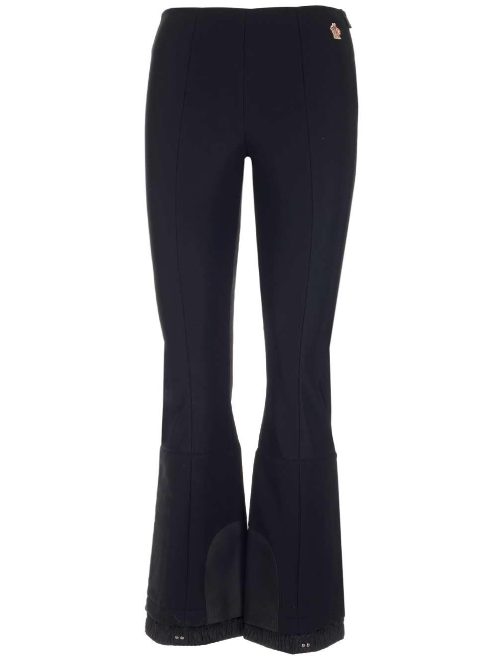 MONCLER GRENOBLE Black Slim Fit Sky Trousers