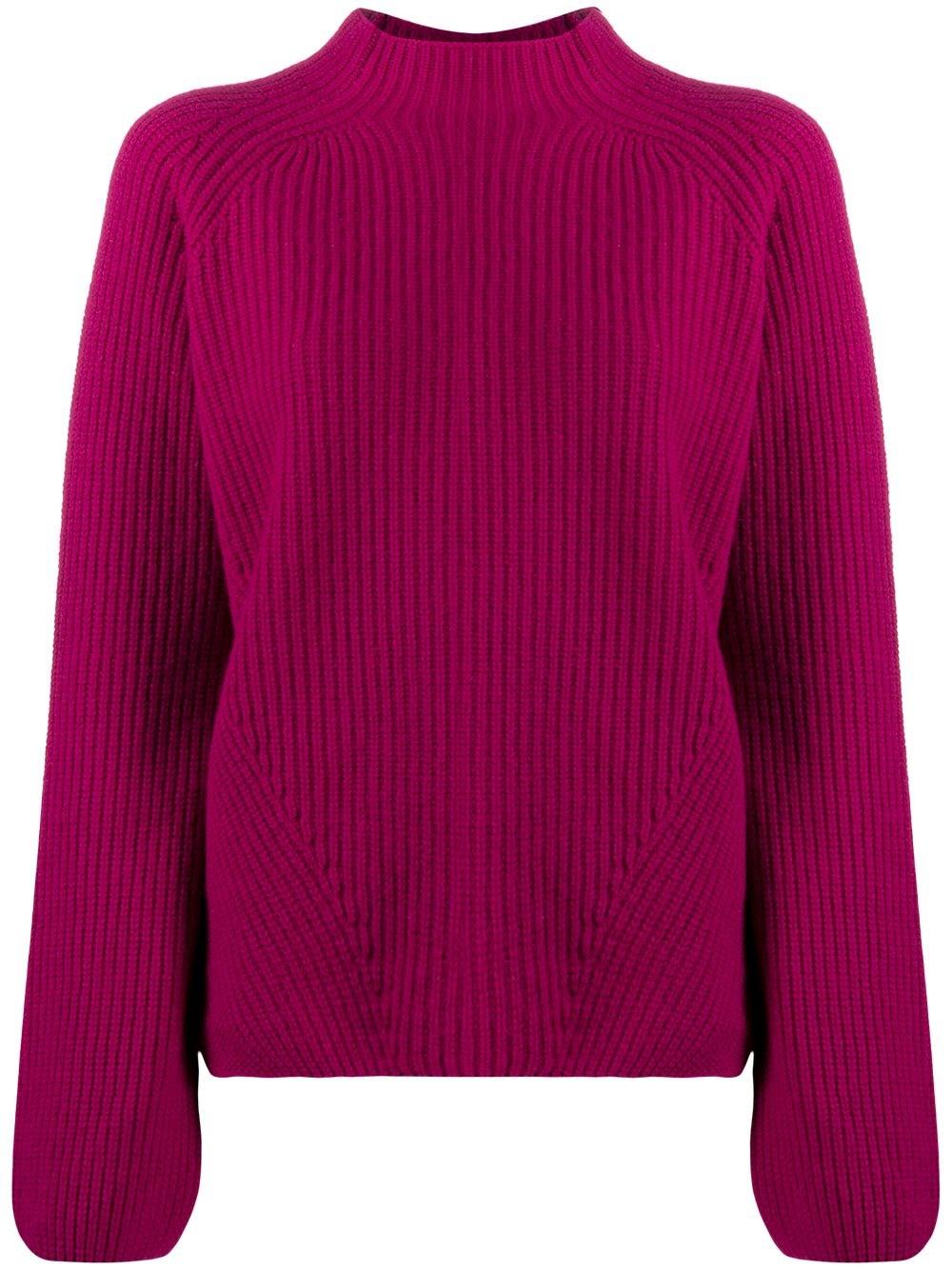 FORTE_FORTE Mock Neck Knitted Jumper