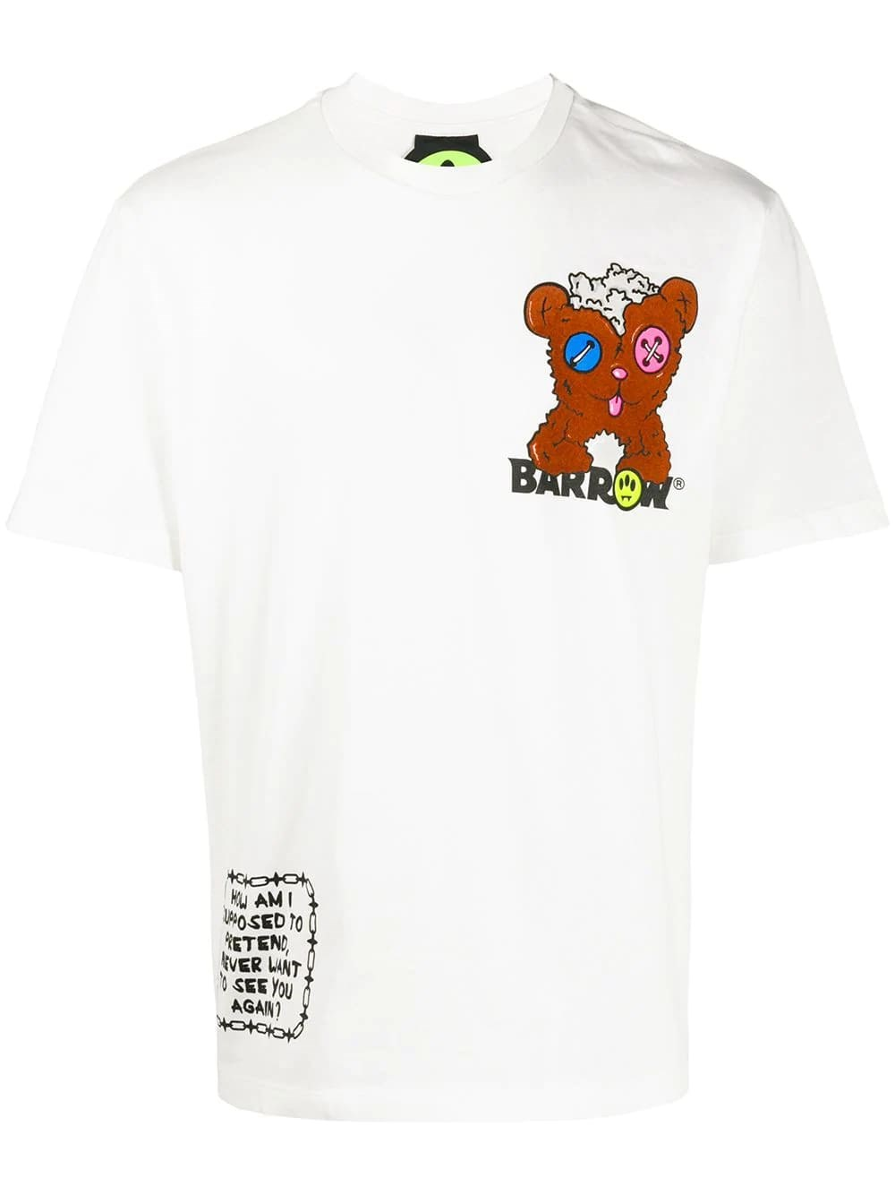 "BARROW ""Drunk Bear"" T-Shirt"