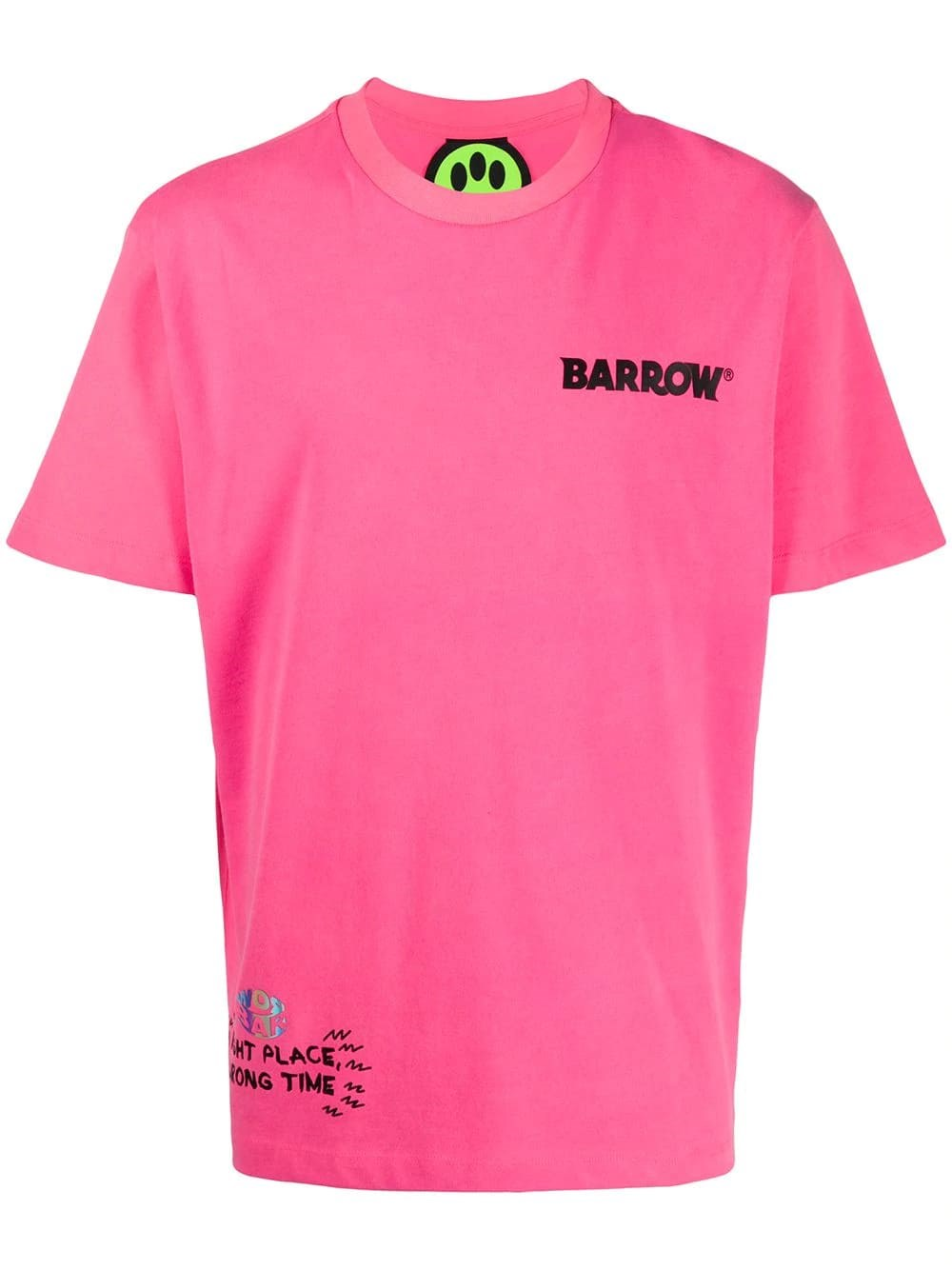 "BARROW ""Big Smile"" Printed T-Shirt"
