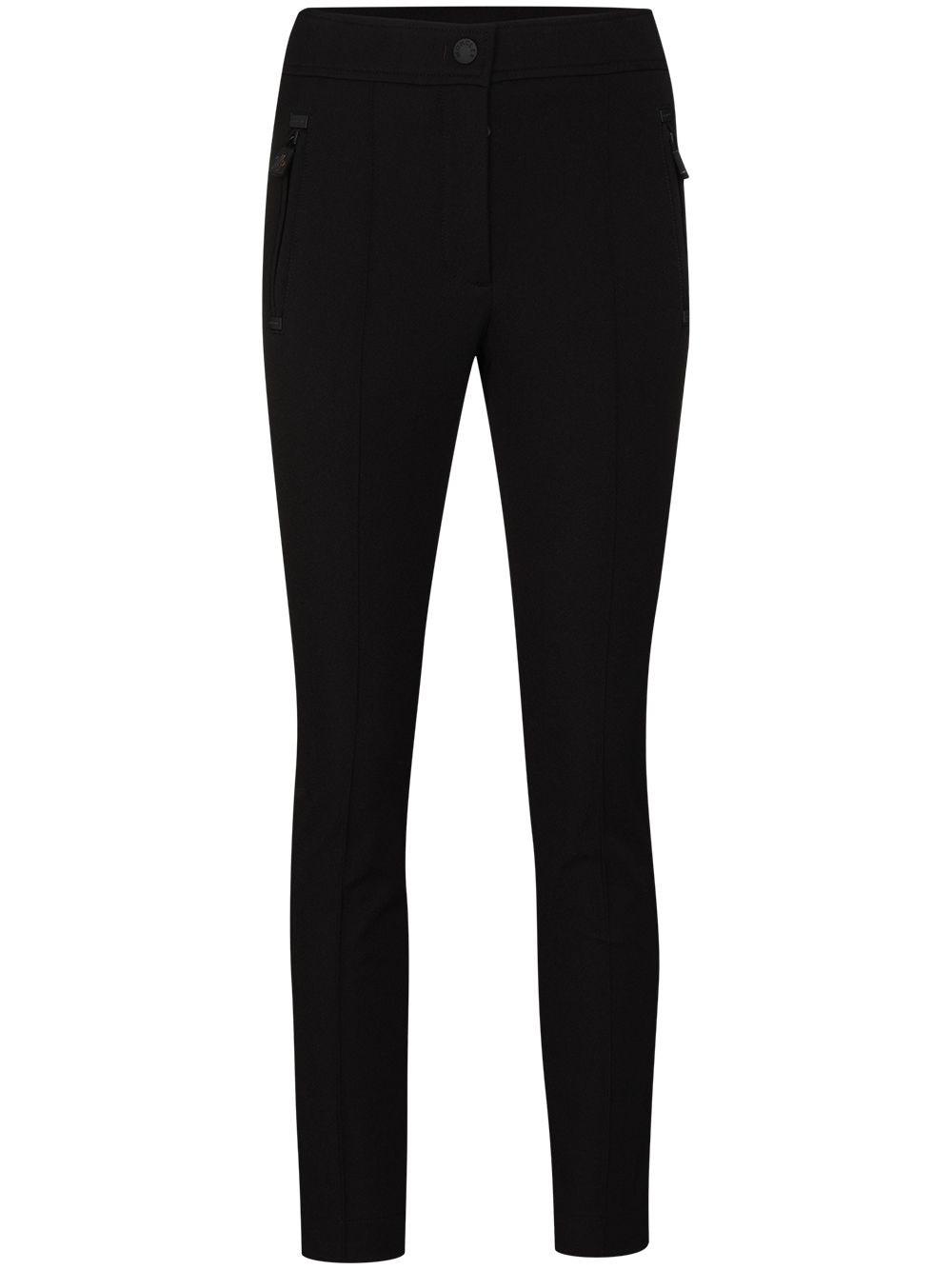 MONCLER GRENOBLE Black Skinny Jeans