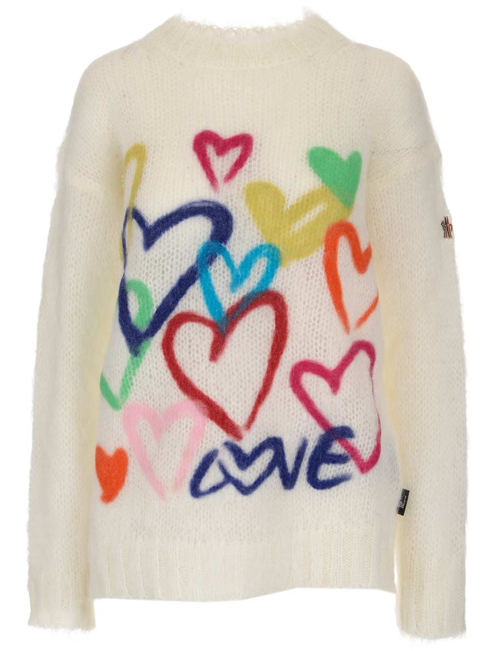 MONCLER GENIUS Hearts Sweater