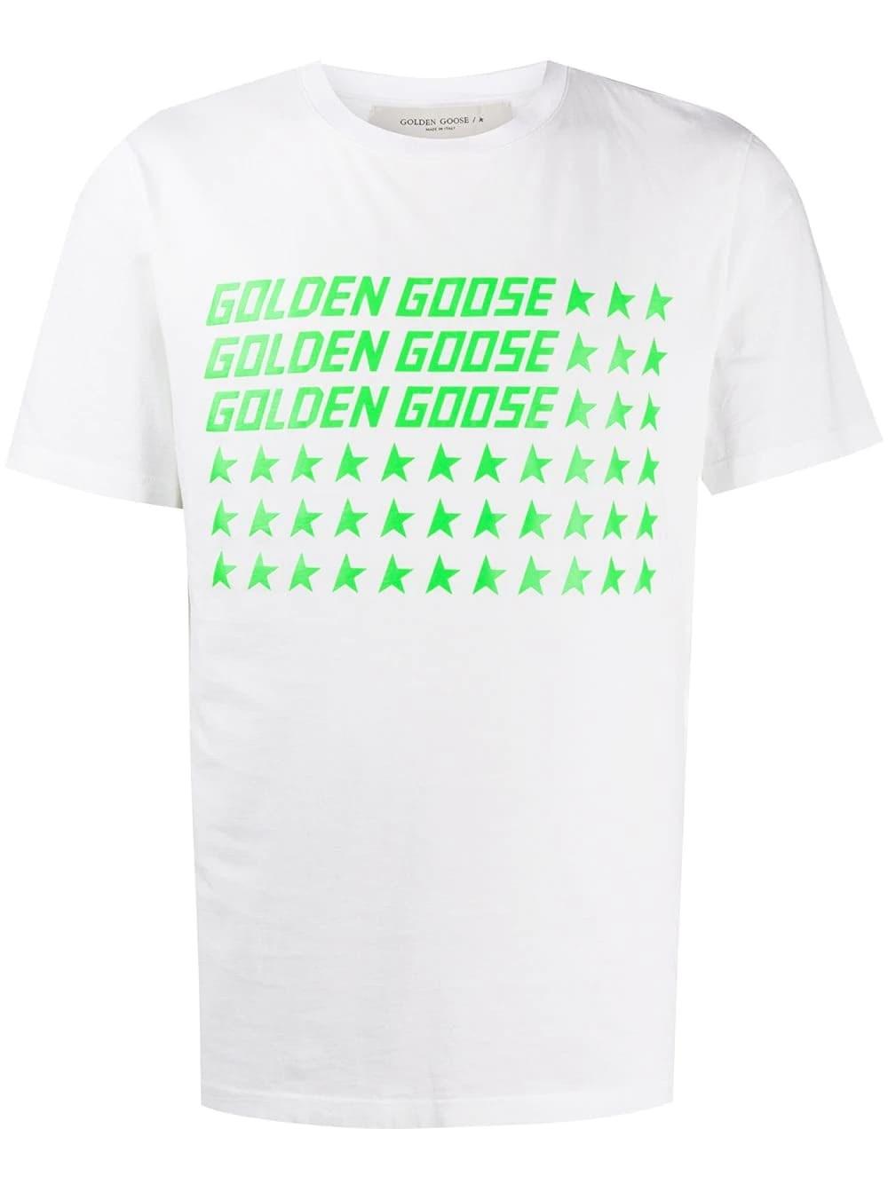 GOLDEN GOOSE DELUXE BRAND Ggdb Flag T-Shirt