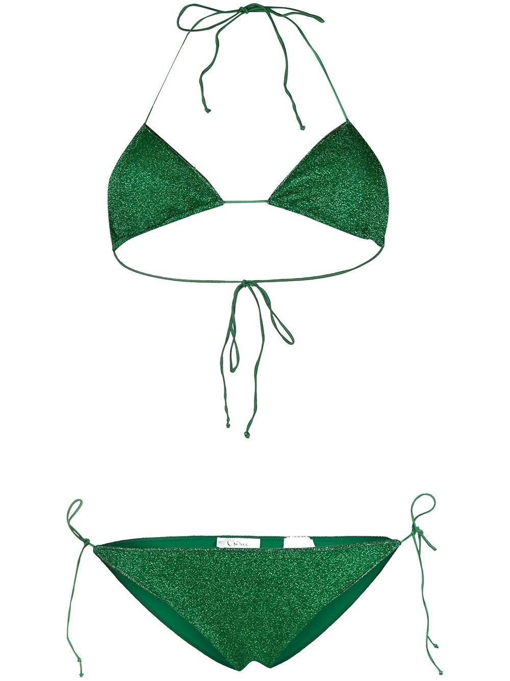 OSEREE Lurex Halterneck Bikini