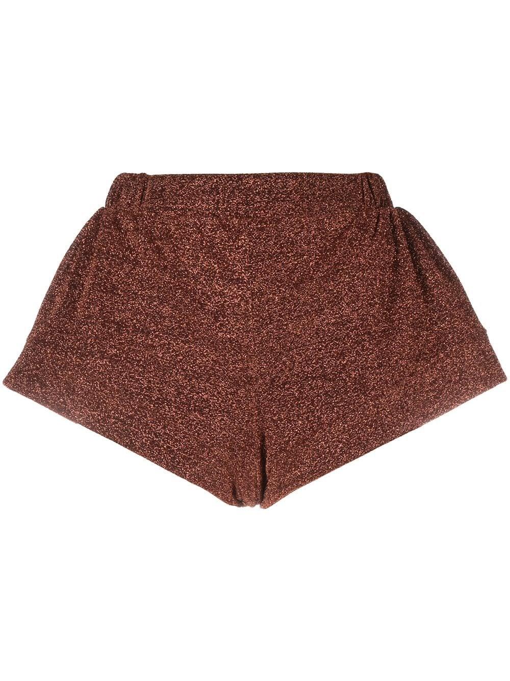 OSEREE Metallic Threaded Shorts