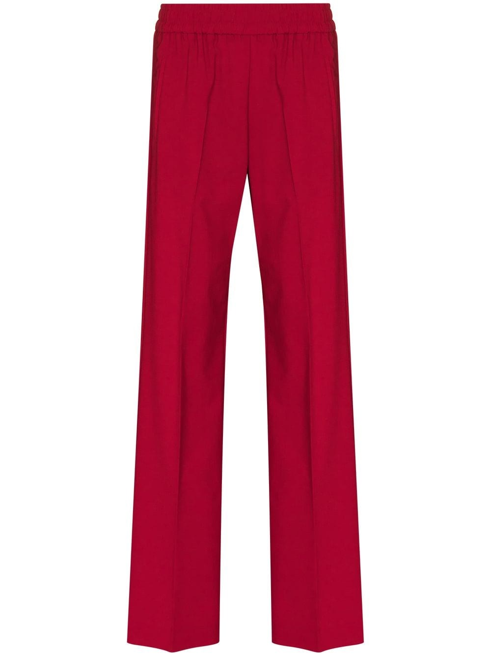 "GOLDEN GOOSE DELUXE BRAND ""Brittany"" Red Trousers"