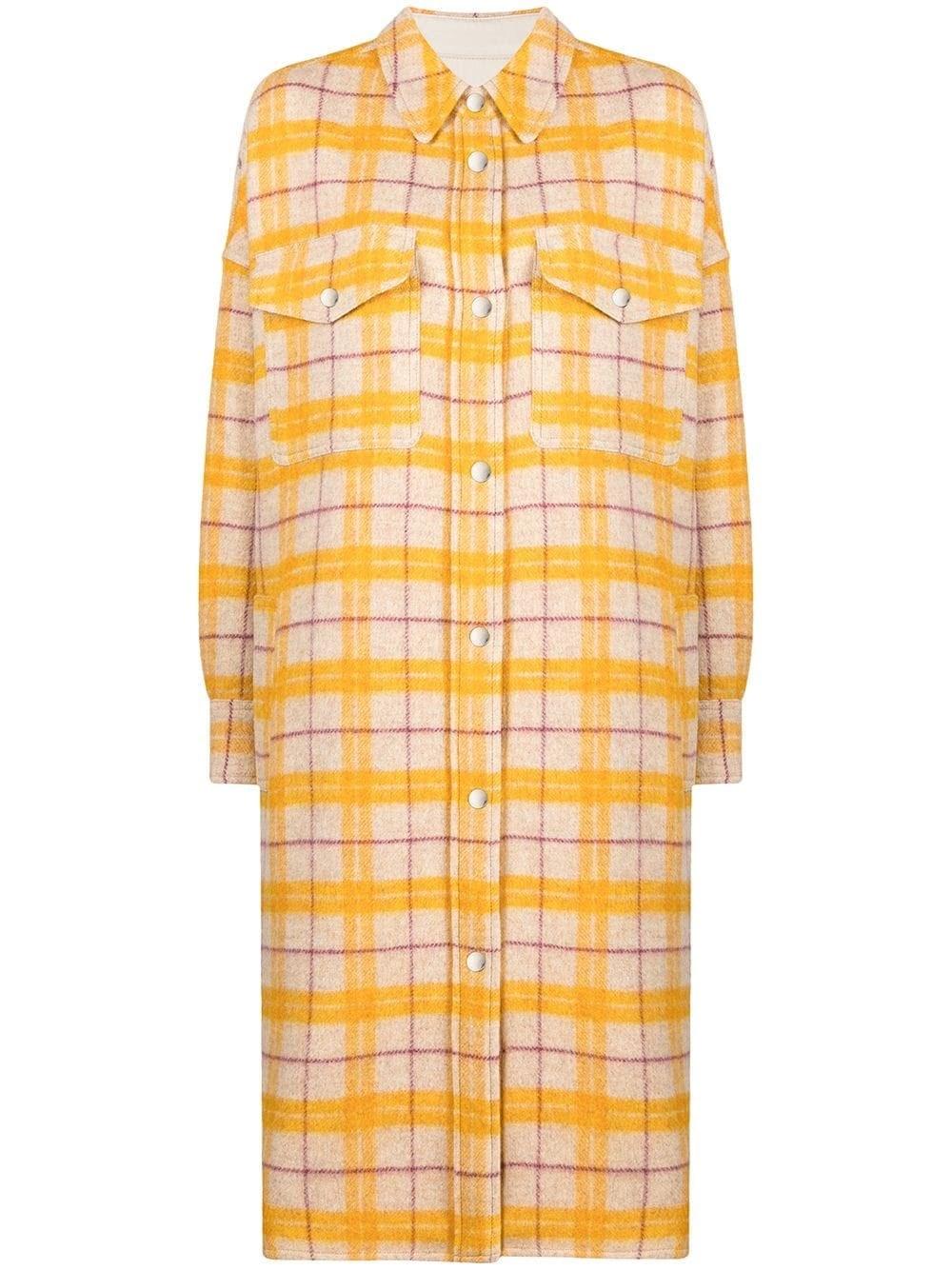 "ISABEL MARANT ETOILE ""Fontia"" Long Shirt Coat"