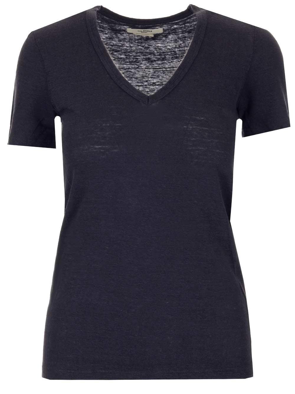 """ISABEL MARANT ETOILE Black """"Kranger"""" T-Shirt"""