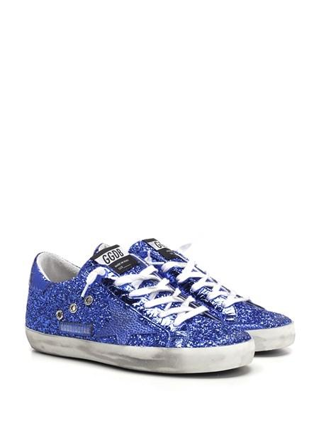 Golden Goose Deluxe Brand Blue glitter