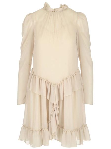118f1e0099 Ivory ruffled dress