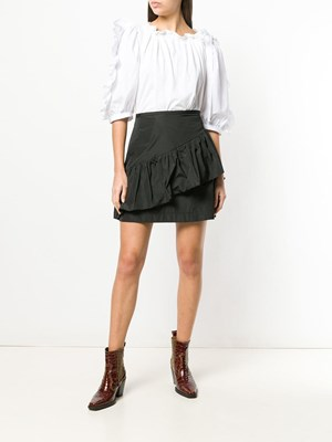 487ab082a1 ... SEE BY CHLOE  Black ruffle mini skirt