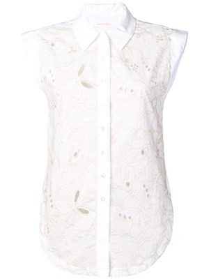 33d9405fe6 SEE BY CHLOE  Embroidered shirt ...