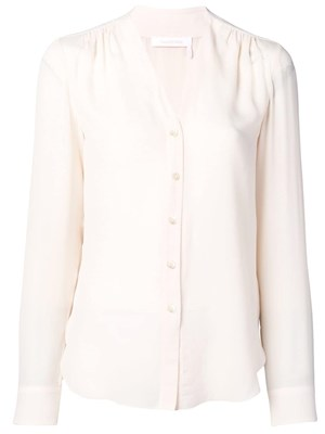5c7e0559f3 SEE BY CHLOE  V-neck silk blouse ...