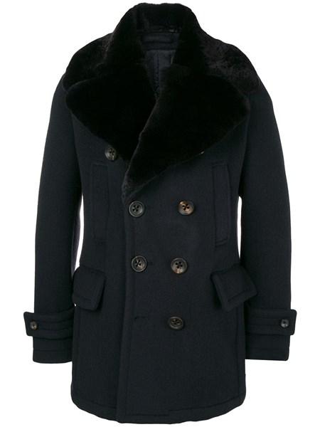 brand new 51707 d15ec cappotto doppio petto corto